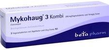 beta pharm Mykohaug 3 Kombi 3 Vagtabletten 25g Creme