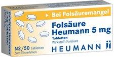 Heumann Folsäure Heumann 5 mg Tabletten (50 Stk.)