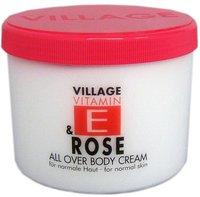 Village Vitamin E Bodycream Rose (500 ml)