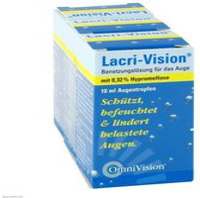 OmniVision Lacri Vision Augentropfen (3x10 ml)