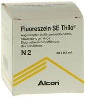 ALCON Fluoreszein Se Thilo Augentr. (50 x 0.4 ml)