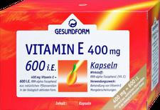 Gesundform Vitamin E 400 mg Kapseln (60 Stk.)