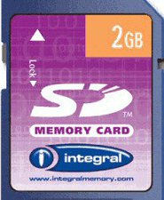 Integral SD Card 2 GB