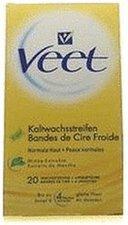 Veet Kaltwachsstreifen Trockene Haut (20 Stk.)