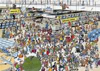 Jumbo Jan van Haasteren - Auf dem Flughafen