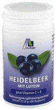 avitale Heidelbeer Kapseln + Lutein + Vitamin C+E (60 Stk.)
