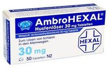 Hexal Ambro Hustenloeser 30 Mg Tabletten (50 Stück)