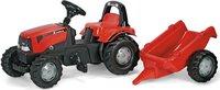 Rolly Toys rollyKid Case mit Überrollbügel und Anhänger