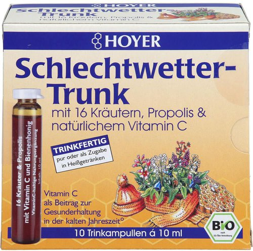 Kyberg Pharma Hoyer Schlechtwetter Trunk (10 x 10 ml)