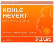 Hevert Kohle Tabletten (100 Stk.)
