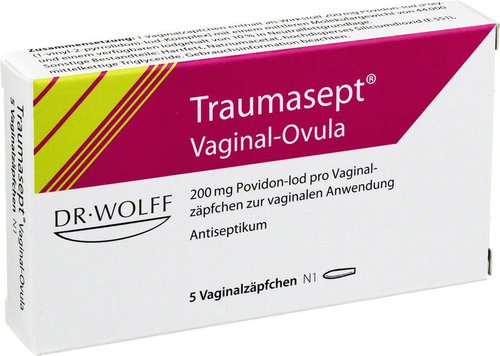 Dr. August Wolff Traumasept Ovula (5 Stk.)