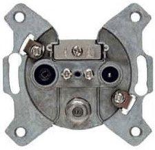 Berker Antennen-Steckdose 3Loch Durchgangsdose (4523)