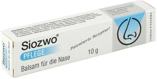 Febena Pharma Siozwo Pflege Balsam F.d. Nase (10 g)