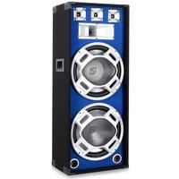 SkyTec Disco Box mit LED Beleuchtung 1000W (2x38