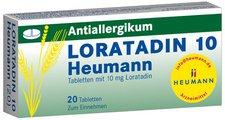 Heumann Loratadin 10 Tabl. (20 Stück)