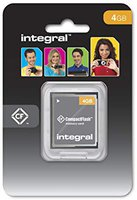 Integral Compact Flash Card 4 GB