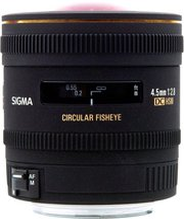 Sigma 4,5mm f2.8 EX DC HSM Nikon