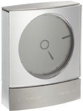 Jacob Jensen Wake Up Clock silber 32045