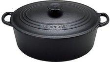 Le Creuset Tradition Bräter 31 cm oval schwarz