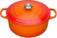 Le Creuset Tradition Bräter 20 cm rund ofenrot