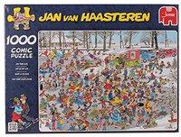 Jumbo Jan van Haasteren - Auf der Eisfläche (1000 Teile)