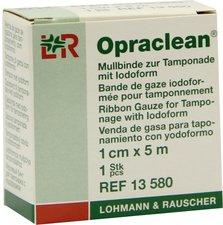 Lohmann & Rauscher Opraclean Mullbinde zur Tamponade 1 cm x 5 m Gerollt (1 Stk.)