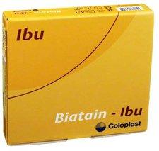 Coloplast Biatain Ibu Schaumverband 10 x 10 cm Nicht-Haftend (5 Stk.)
