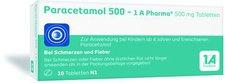 1A Pharma Paracetamol 500 Tabl. (10 Stk.)