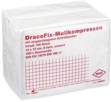 Draco Dracofix OP-Kompressen 10 x 10 cm 8-fach Unsteril (100 Stk.)