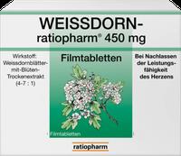 ratiopharm Weissdorn 450 Mg Filmtabletten (50 Stk.)