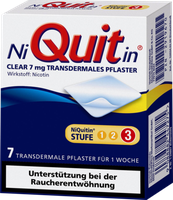 gsk Niquitin Clear 7 mg Pflaster (7 Stk.)