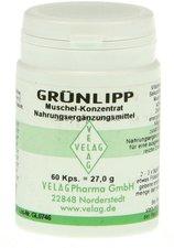 Velag Pharma Grünlipp Muschel Konzentrat Kapseln (60 Stk.)