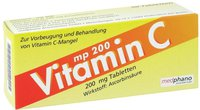 Medphano Vitamin C 200 mg Tabletten (50 Stk.)