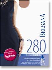 BELSANA Glamour 280den Strumpfhose lang für Schwangere S sinfonie