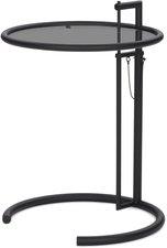 classicon adjustable table e1027 schwarz parsolglas grau