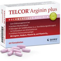 Quiris Telcor Arginin Plus Filmtabletten (60 Stk.)
