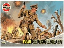 Airfix Britische Infanterie WWI (01727)