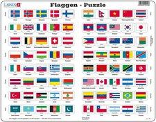 Larsen Flaggen-Puzzle