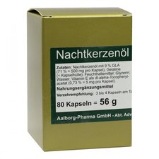 Advanced Pharmaceutical Nachtkerzenöl 500 Mg Pro Kapsel (80 Stk.)