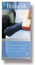 BELSANA Soft Diabetiker Socke 2 schwarz mit Silberfaser