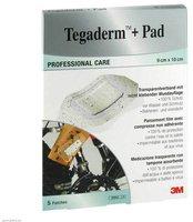 3M Medica Tegaderm Plus Pad 9 x 10 cm 3586Np Pflaster (5 Stk.)