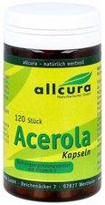 allcura Acerola Kapseln Natuerl.Vitamin C (120 Stk.)