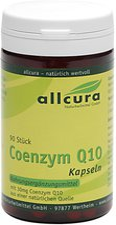 allcura Coenzym Q 10 Kapseln A 30 Mg (90 Stk.)