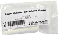Dr. JUNGHANS Irrigator Klistierrohr Zum Schrauben (1 Stück)