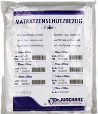 Dr. JUNGHANS Matratzen-Schutzbezug Folie 0,1 mm Weiss (60 x 120 cm)