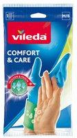Vileda Gummi Handschuh Comfort & Care M