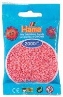 malte haaning Plastic Perlen 2000 Stück - hellrot