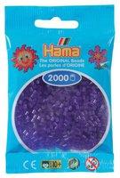 malte haaning Plastic Perlen 2000 Stück - transparent-lila