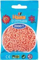 malte haaning Plastic Mini-Perlen 2000 Stück hellrosa (501-26)