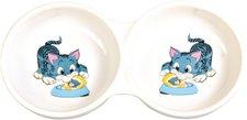 Trixie Kitten-Napf, Keramik, 2 x 0, 15 l / ø 11 cm